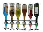 Barbutler Wand – Getränkeportionierer für 6 Flaschen