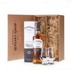Bowmore 12 Genießer-Set – Geschenkidee Whisky mit Nosing Gläsern