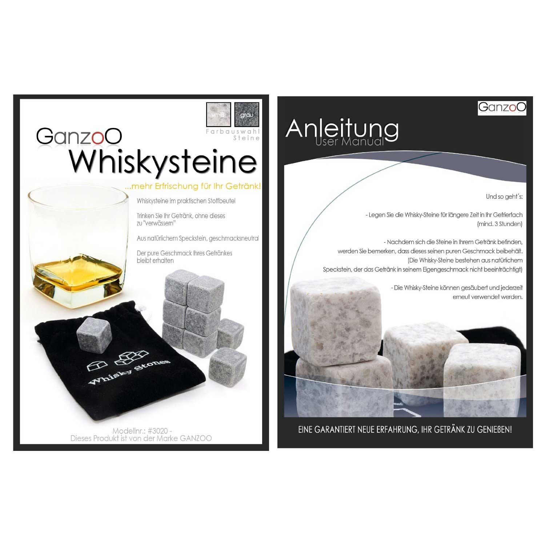 cocktail gl ser 9er set whisky steine aus nat rlichem speckstein k hlsteine. Black Bedroom Furniture Sets. Home Design Ideas