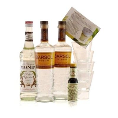 Barsol-Pisco-Sour-Set-mit-Tumbler-und-Monin-Sirup-LIMA--Nationalcocktail-Peru