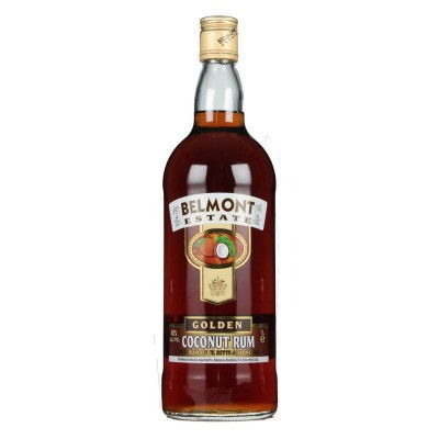 Belmont-Estate-Gold-Coconut-Rum-100cl-Flasche-Ron