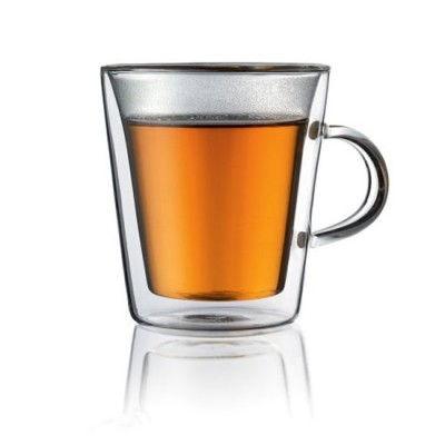 Bodum-1032510-Canteen-2er-Set-Tasse-mit-Griff-doppelwandiges-Teeglas