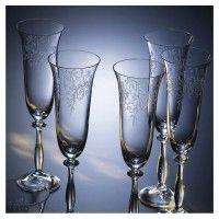 Bohemia-Cristal-093-006-014-Sektkelche-190ml-Romance-6er-Set-Sektglas
