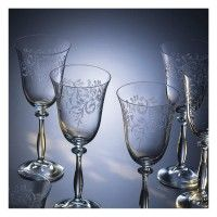 Bohemia-Cristal-093006012-Weinkelche-350ml-Romance-6er-Set-mit-Gravur-2