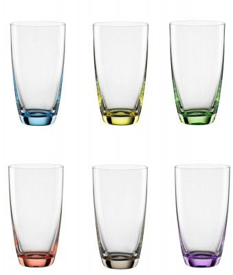 Bohemia-Cristal-093006051-6er-Set-Longdrinkbecher-350ml-Viva-Colori