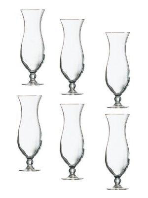 Elegance-Hurricane-Colada-Cocktailglas-440ml-im-6er-Set