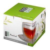 Feelino-250ml-Bullini-doppelwandige-Thermotasse-Teetasse-mit-Untersetzer-und-Henkel-4