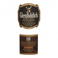Glenfiddich-18-Years-Whisky-Label