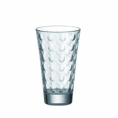 LEONARDO-086709-6er-Set-Becher-gross-Optic-Wasser-Saft-Glaeser