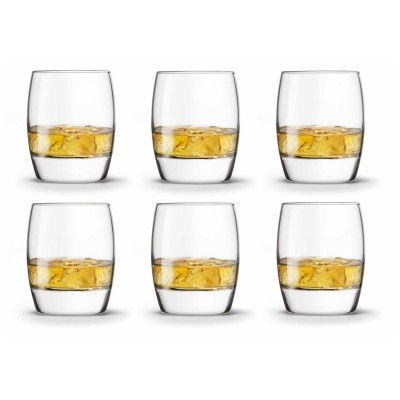 Libbey-922262-Whiskeybecher-6er-Set-Deluxe-28cl-280ml-Whiskyglas