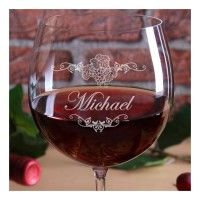 Privatglas-Bordeauxglas-Bohemia-mit-gratis-Gravur-Motiv-Weinrebe-mit-Wunschname-3