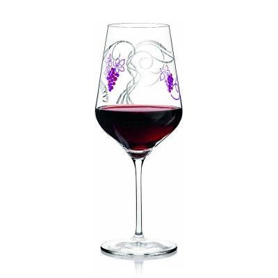 Ritzenhoff-3000006-Design-Rotweinglas-Tage-F13-Glaeser-mit-Muster
