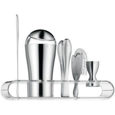 WMF 0686926030 Bar-Design-Set 6-teilig loft Bar Eis-crusher-Eisschaufel-Stoessel
