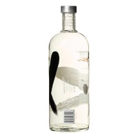 Absolut Vodka Vanila Etikett