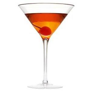 Manhattan Cocktail Glas