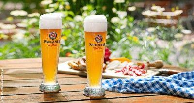paulaner-weissbier-glaeser-biergarten-brotzeit