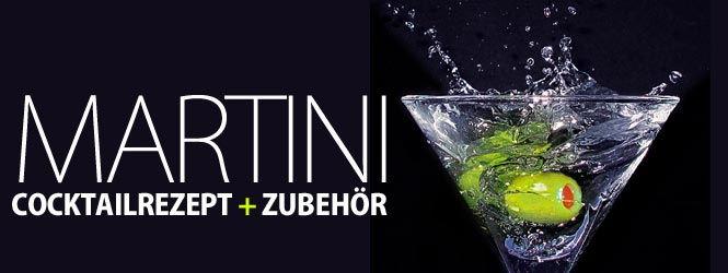 Martini Cocktail Rezept: Wie wird ein Martini zubereitet?